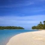 Cook Island Palmen Strand