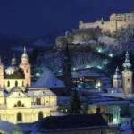Salzburg in der Nacht