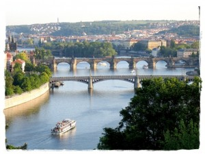 Prag Ansichtskarte
