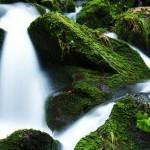 Romantischer Wasserfall